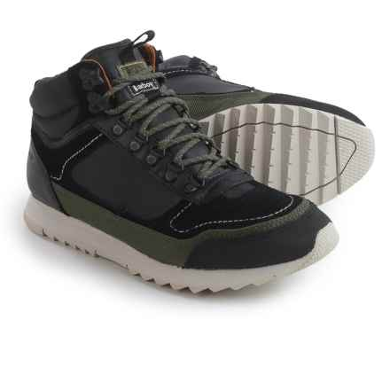 Barbour Highlands Sneakers (For Men) in Black - Closeouts