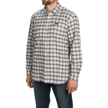 Barbour Hike Sport Shirt - Long Sleeve (For Men) in Navy - Closeouts
