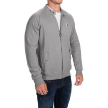Barbour Hilts Sweatshirt - Full Zip (For Men) in Grey Marl - Closeouts