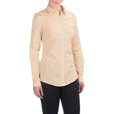 Barbour Holsteiner Shirt - Long Sleeve (For Women) in Palmino - Closeouts