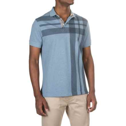 Barbour Howard Polo Shirt - Short Sleeve (For Men) in Powder Blue - Closeouts