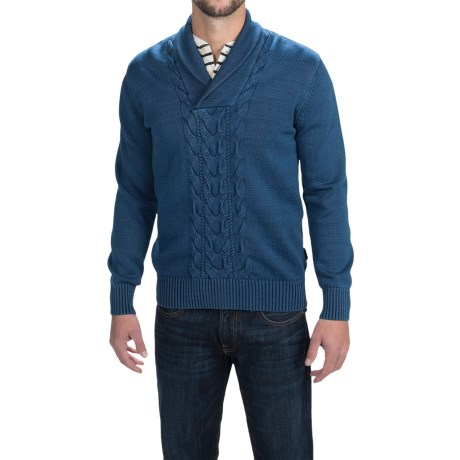 Barbour Hurricane Sweater Shawl Neck For Men