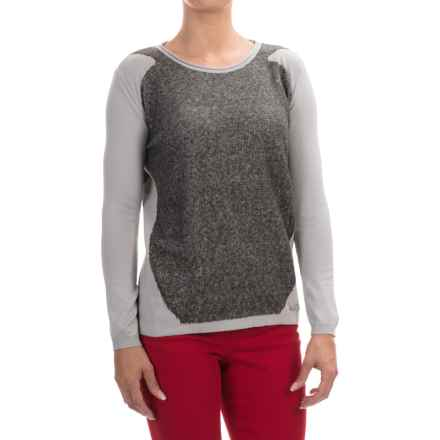 Barbour International April Sweater (For Women) in Silver - Closeouts