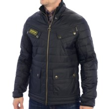 Barbour International Aviemore Quilted Jacket (For Men) in Black - Closeouts