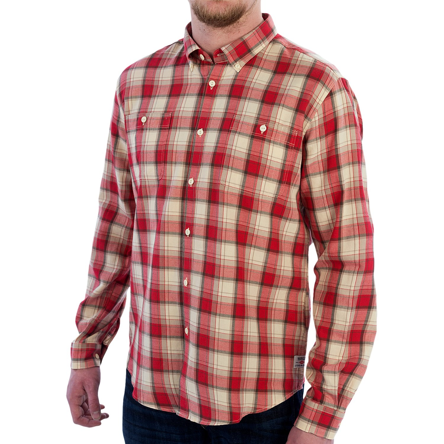 Barbour international cabell sport shirt for men save 61 for Mens button down sport shirts
