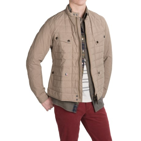 Barbour International Chris Quilted Jacket (For Men)