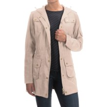 Barbour International Delter Casual Parka (For Women) in Dark Pearl - Closeouts