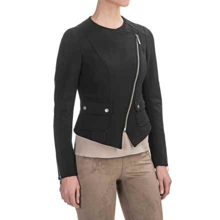 Barbour International Folco Mid Jacket (For Women) in Black - Closeouts