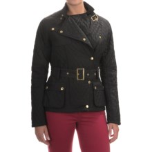 Barbour International Hairpin Quilted Jacket (For Women) in Black - Closeouts