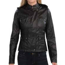 Barbour International India Verseys Casual Jacket (For Women) in Black - Closeouts