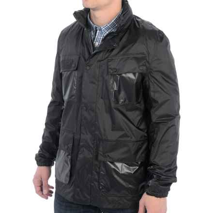 Barbour International Lightweight A7 Jacket - Waterproof (For Men) in Black - Closeouts