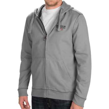 Barbour International Longford Hoodie - Full Zip (For Men) in Grey Marl - Closeouts