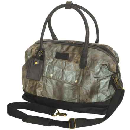 Barbour International Photoprint Explorer Holdall Bag in Olive Drab - Closeouts