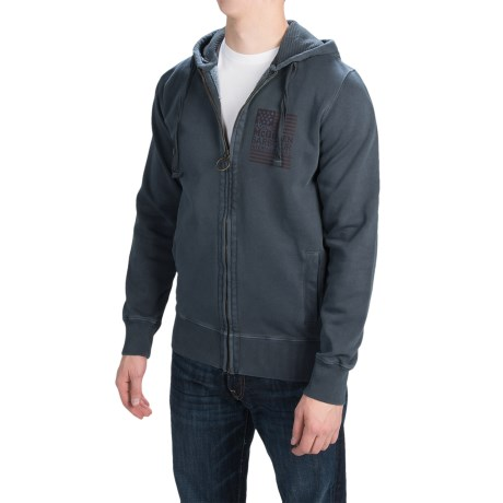 Barbour International Randall Hooded Sweatshirt Full Zip (For Men)