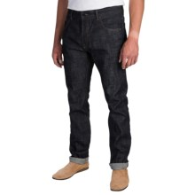 Barbour International Selvedge Jeans (For Men) in Worn Once - Closeouts