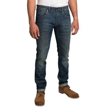 Barbour International Selvedge Jeans - Slim Fit (For Men) in 3 Year Wash - Closeouts