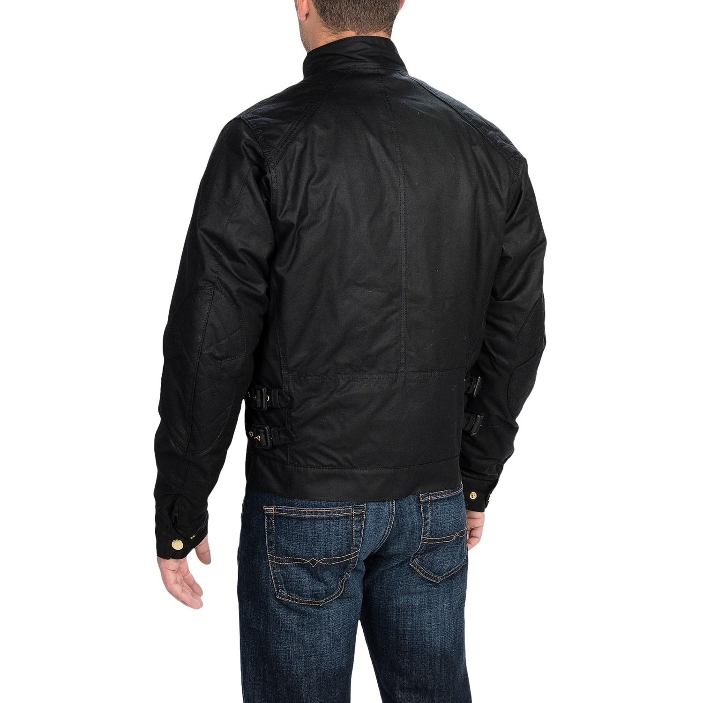 Barbour International Short Motorcycle Jacket For Men