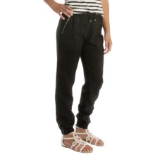 Barbour International Sprint Pants - Relaxed Fit (For Women) in Black - Closeouts