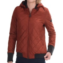 Barbour International Streak Quilted Jacket (For Women) in Rust - Closeouts