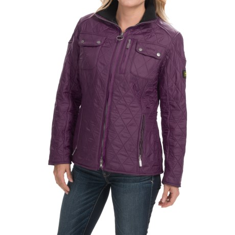 Barbour International Trials Polarquilt Jacket (For Women)