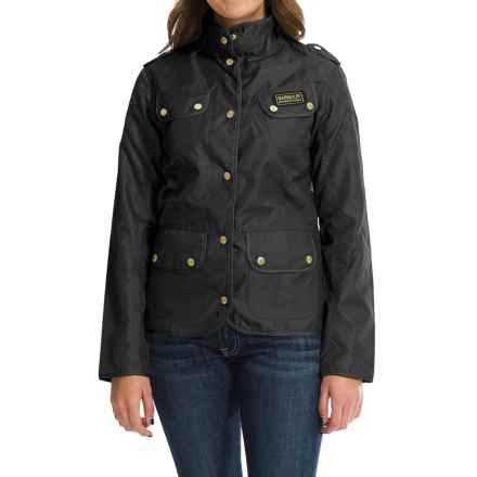 Barbour International Vintage Lightweight Jacket - Slim Fit (For Women) in Navy - Closeouts