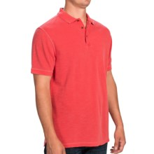 Barbour International Washed Polo Shirt - Short Sleeve (For Men) in Red - Closeouts