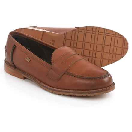 Barbour Jasmine Loafers - Leather (For Women) in Tan - Closeouts