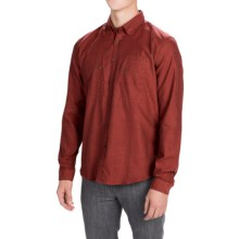 Barbour Jennings Dress Shirt - Button Front, Long Sleeve (For Men) in Brick Red - Closeouts