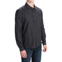 Barbour Jennings Dress Shirt - Button Front, Long Sleeve (For Men) in Graphite - Closeouts