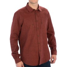 Barbour Jennings Shirt - Button Front, Long Sleeve (For Men) in Brick Red - Closeouts