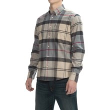 Barbour John Cotton Shirt - Long Sleeve (For Men) in Dress Tartan - Closeouts