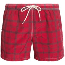 Barbour John Shorts (For Men) in Pillar Box Red - Closeouts