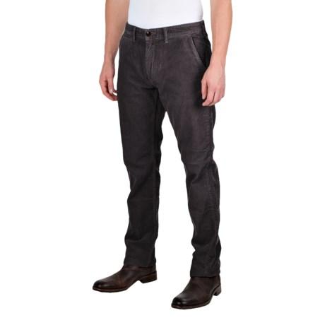 Barbour Joshua Slim Leg Corduroy Trousers (For Men) in Dark Navy