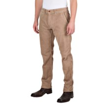 Barbour Joshua Slim Leg Corduroy Trousers (For Men) in Sandstone - Closeouts
