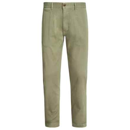 Barbour Joshua Trousers - Tailored Fit (For Men) in Pea Green - Closeouts