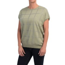 Barbour Katrine Tank Sweater - Short Sleeve (For Women) in Pale Sage Marl - Closeouts
