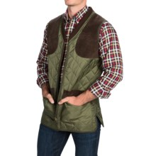 Barbour Keeperwear Quilted Vest - Insulated (For Men) in Olive - Closeouts