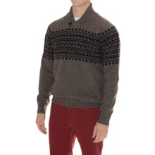 Barbour Kersal Sweater - Wool Blend, Shawl Neck (For Men) in Ash - Closeouts