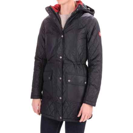 Barbour Kirkby Quilted Jacket - Insulated (For Women) in Navy - Closeouts