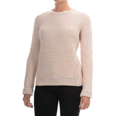Barbour Kirkby Sweater - Merino Wool (For Women) in Vanilla - Closeouts