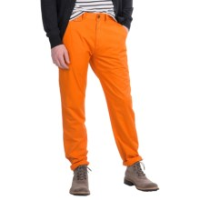 Barbour Knightsbridge Twill Trouser Pants - Tailored Fit (For Men) in Acid Orange - Closeouts