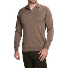Barbour Land Rover Eastnor Sweater - Merino Wool (For Men) in Sandstone - Closeouts