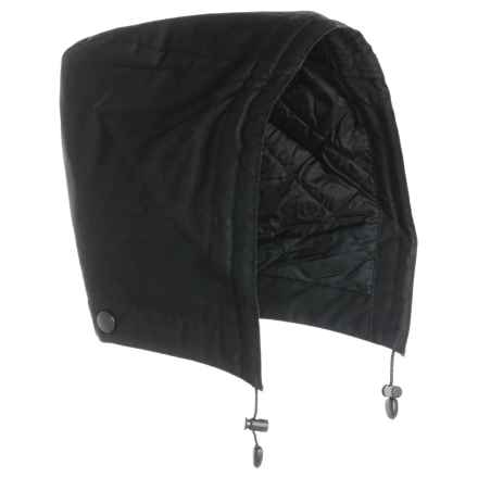 Barbour Land Rover Hood - Insulated (For Men) in Black - Closeouts
