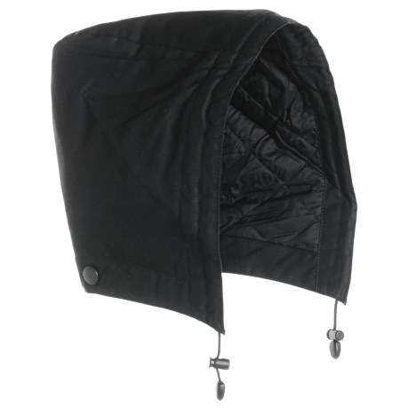 Barbour Land Rover Hood - Insulated (For Men) in Black