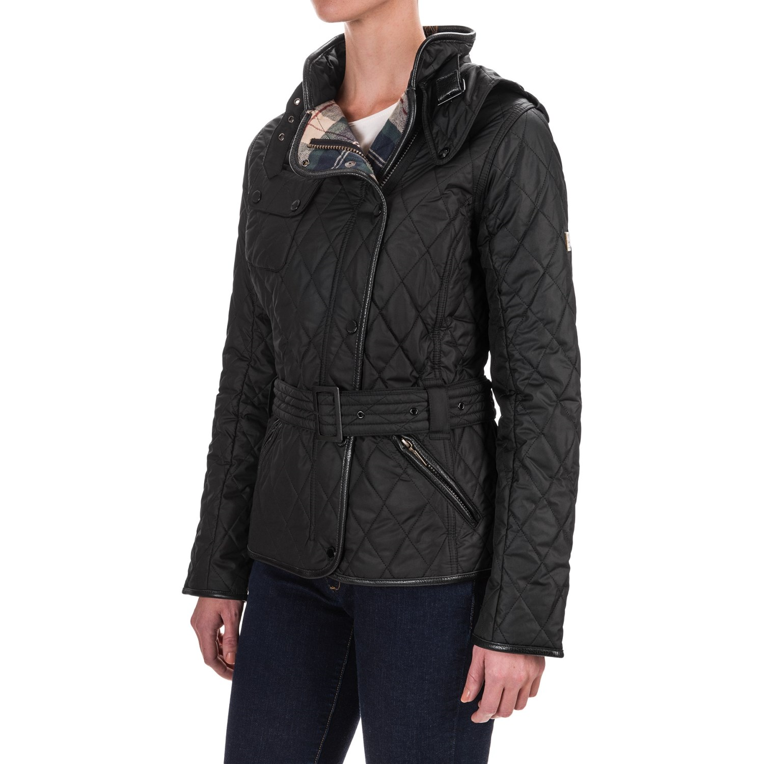Barbour Land Rover Lordenshaw Quilted Jacket For Women