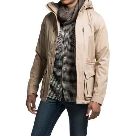 Barbour Land Rover Sand Storm Jacket - Waterproof (For Men) in Light Sand - Closeouts