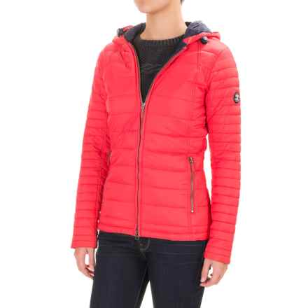 Barbour Landry Baffle Quilted Jacket - Insulated (For Women) in Flare - Closeouts