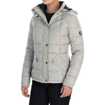 Barbour Landry Quilted Jacket - Insulated (For Women) in Silver - Closeouts