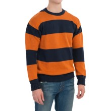 Barbour Langstone Linen-Cotton Sweater (For Men) in Amber - Closeouts