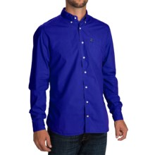 Barbour Laundered Button-Front Shirt - Long Sleeve (For Men) in Inky Blue - Closeouts